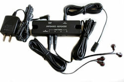 IR Remote Extender Receiver Kit Perfect for HDTV and Home Theater Fast Shipping