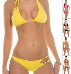 KouCla SEXY BACK Women#x27;s Top amp; Bottom Swimwear Swimsuit Bikini Set S M L XL $10.99