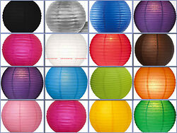 10X 12quot; round Chinese paper lanterns Wedding Party Floral Lamp Event decoration $13.49