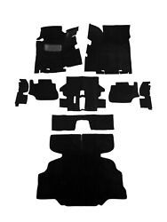 1975 1976 DATSUN 280Z COMPLETE FLOOR REPLACEMENT BLACK CUT PILE CARPET $206.99