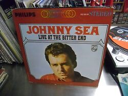Johnny Sea Live At The Bitter End vinyl LP 1965 Philips Records VG stereo $10.00