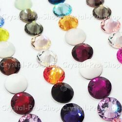 6ss Genuine Swarovski Hotfix Iron On Rhinestone nail Crystal 2mm ss6 SATIN