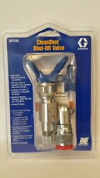 Clean Shot Shut Off Valve for Paint Gun Pole Extensions 287030 by Graco w TIP $117.99