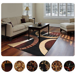 Modern Contemporary Geometric Area Rug Runner Accent Mat Carpet $34.99