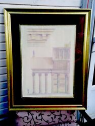 Original art work Roman Pantheon Help inspire our youth.      Art by TLSellers