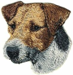 3quot; Jack Russell Terrier Canine Dog Breed Embroidery Patch $2.99