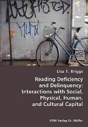 Reading Deficiency and Delinquency by Lisa T. Briggs (English) Paperback Book Fr
