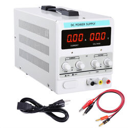 30V 10A Adjustable DC Power Supply Precision Variable Dual Digital Lab Test 110V $70.90