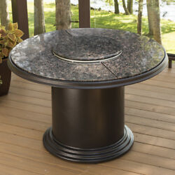 The Outdoor GreatRoom Company Fiberglass Gas Fire Pit Table