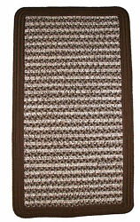 Thorndike Mills Town Crier Brown IndoorOutdoor Rug