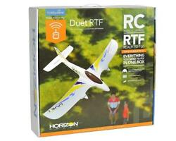 Hobbyzone Duet RC Trainer Beginner Electric Airplane RTF Ready to Fly HBZ5300 $69.99