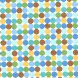 05796 Boys are Made of Multi Dot - Flannel Fat Quarter