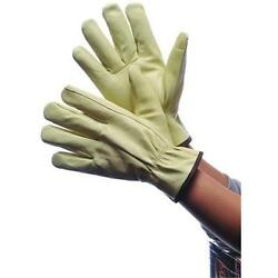 DDI 1819597 Leather Pig Skin Driver Gloves With Lining Large