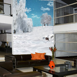 3D White earth trees 8122 Wall Paper Wall Print Decal Wall Deco AJ WALLPAPER