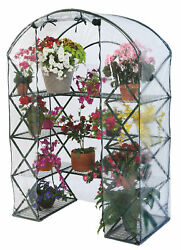 Flowerhouse Harvest House 4.7 Ft. W x 2.5 Ft. D Greenhouse Set of 6