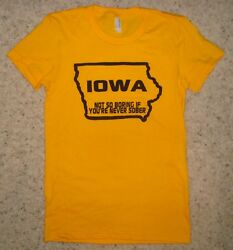 womens funny iowa beer party new hawkeyes state cute football college t shirt $19.00