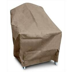 KoverRoos KoverRoos III Adirondack Chair Cover Taupe 37 W x 40 D x 41 H in.