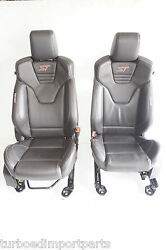 FORD FOCUS ST OEM FACTORY ST3 FRONT LEATHER RECARO HEATED POWER BUCKET SEATS