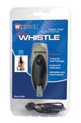 Windsor Three Tone Electronic Sports Whistle with Wrist Lanyard $44.94