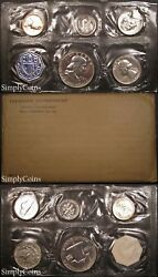 1957 Proof Set ~ Flat Pack Original Envelope ~ US Silver Mint Coin Set