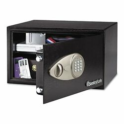 Sentry Safe Security Safe - 0.70 Ft - Electronic Lock - 2 X Live-locking Bolt[s]