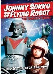 Johnny Sokko and His Flying Robot: The Complete Series New DVD $27.96