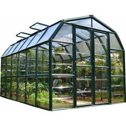 Rion HG7212C Grand Gardener 2 Clear 8 x 12 ft. Greenhouse
