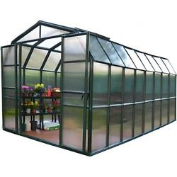 Rion HG7216 Grand Gardener 2 Twin Wall 8 x 16 ft. Greenhouse
