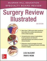 Surgery Review Illustrated 2e by Lisa McElroy (English) Paperback Book Free Shi