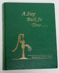 A Step Back In Time Armstrong's Family History Emmet County Iowa 1893-1993