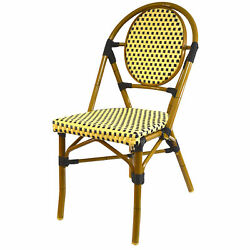 Infinita Corporation French Stacking Patio Dining Chair Set of 6