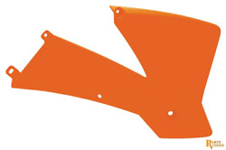 Acerbis Radiator Shrouds  Ktm Orange 2071380237 Rad Shrds 01 Sx Org 15919384