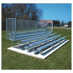 Jaypro Sports BLCH-5GR Five Row 15 ft. with Guard Rail