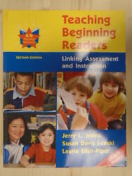 TEACHING BEGINNING READERS: LINKING ASSESSMENT AND INSTRUCTION W CD ROM by ELIS