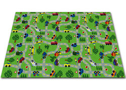 Kid Carpet On The Go Green IndoorOutdoor Area Rug