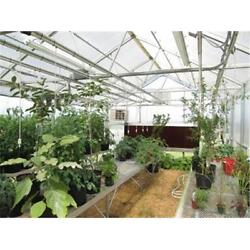 Riverstone Industries RSI 24 Ft. Whitney Educational Greenhouse Kit 8 Ft. Walls
