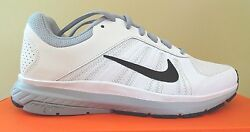 NIKE Dart 12 Men#x27;s Running Crosstrainers White Black Wolf Grey NWD $39.99