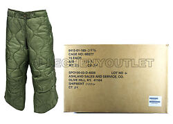 US Military M65 Field Trouser Pant Liner Field Pants Cold Weather LARGE REG NWT $10.90