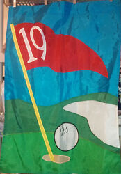 Large Outdoor Decorative Flag The 19th Hole Golf  27