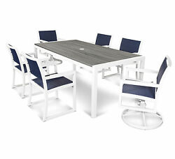 Trex Outdoor Parsons 7 Piece Dining Set