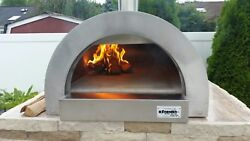 ilFornino F- Series Mini Professional Stainless Steel Wood Fired Pizza Oven