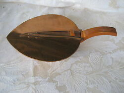Beautiful Art Deco Copper Chase Silent Butler with Bakelite Handle 11