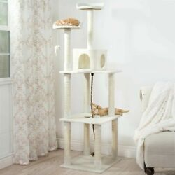 Kitty Cat Large Condo House Perches and Scratching Posts 70 Inches High $79.99