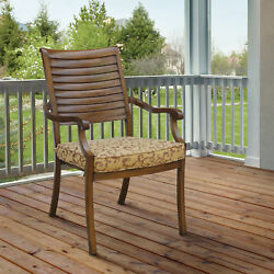Darby Home Co Wolfhurst Patio Dining Chair with Cushion