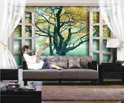 3D Lake White Swans And Trees 32 Wall Paper Wall Print Decal Wall AJ Wall Paper
