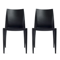Bellini Chairs Black SET OF 4 - Design Within Reach DWR Outdoor