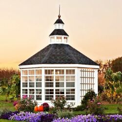 Little Cottage Company Garden Shed 12 Ft. W x 12 Ft. D Greenhouse