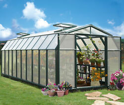 Rion Greenhouses Hobby Gardener 2 Twin Wall 8 Ft. W x 20 Ft. D Greenhouse