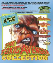 The Toxic Avenger Collection New Blu ray Dolby Widescreen $37.97