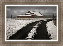Ashton Wall Décor LLC 'Late Winter Morning' Framed Photographic Print